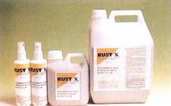 Rust-x ใช้สำหรับทาผิวโลหะที่เป็นสนิม เพื่อเปลี่ยนสภาพสนิมบนผิวโลหะ GOLDEN BAND เทปพันเกลียวทนความร้อ