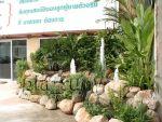 น้ำพุประดับสวน ด้านหน้าบริษัท Hello Bangkok