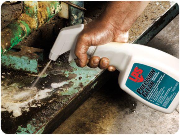 LPS Precision Clean Water-Based Cleaner สเปรย์น้ำยาทำความสะอาดคราบน้ำมัน จาระบี (สูตรน้ำ) ให้การชะล้