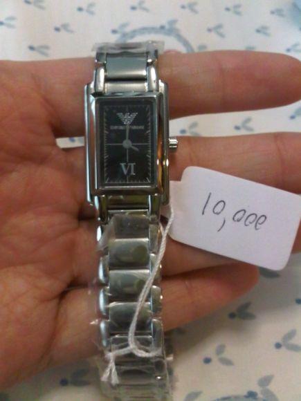 นาฬิกาข้อมือ สายstainless steel ยี่ห้อ Emporio Armani รุ่น AR-5541 มือหนึ่ง ราคา 9500 บาท