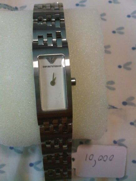 นาฬิกาข้อมือ สายstainless steel ยี่ห้อ Emporio Armani รุ่น AR-5544 มือหนึ่ง ราคา 9500 บาท