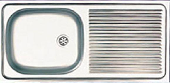 ซิงค์สแตนเลสฝังยี่ห้อ DIAMOND รุ่น DM-072-A