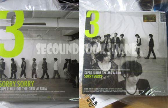 Super Junior [The 3RD Album Sorry,Sorry] ver.A เกาหลี