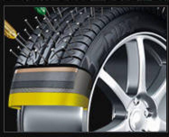 จำหน่ายยางรถเก็ง, รถกระบะ,2WD,4WD, รถบัส และรถบรรทุก ยางนิรภัยฟินิกส์   ที่สามารถซ่อมแซมรอยรั่วได้ด้