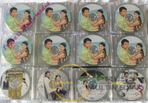 ร้านทำ CD ซีดี DVD ดีวีดี ที่ระลึก ของชำร่วย