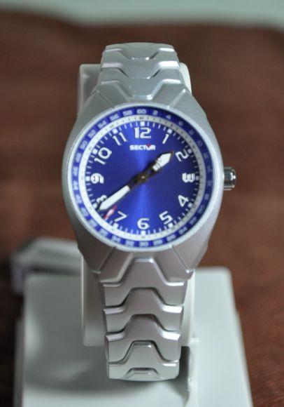 **สินค้าอยู่ไทย พร้อมส่ง** Sector 185 Blue Dial Aluminum Women Watch