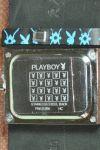 **หมดแล้ว** Playboy Bunny Watch Black Leather