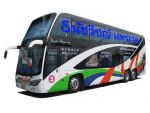 ตั่วรถบัส ให้เช่าเหมารถบัส เช่าเหามคันรถทัวร์ รถโค้ชปรับอากาศVIP 2ชั้น 8ล้อ รุ่นใหม่หรูหรา เน้น serv