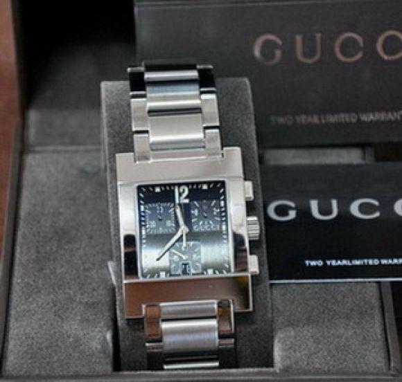 **สินค้าอยู่ไทย พร้อมส่ง** Gucci 7700 Chronograph Mens Watch
