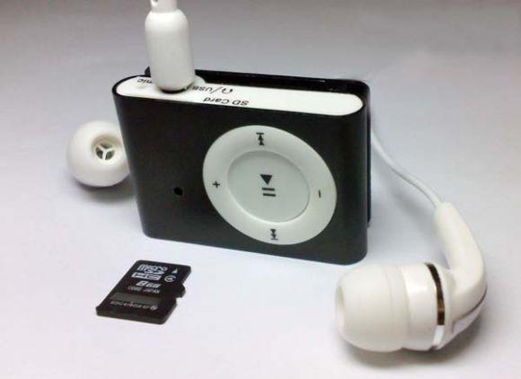 MP3 Shuffle ขนาดจิ๋ว มีกล้อง ฟังเพลงได้จริง ถ่าย VDO ก็ชัด กล้องMP3