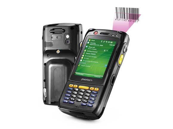 Mobile computer Pidion bluebird BIP-6000Max barcode scanner เครื่องอ่านบาร์โค้ด Pidion BIP-6000Max