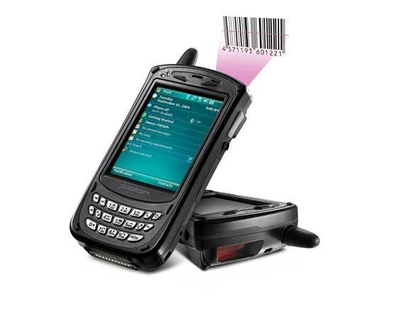 Mobile computer Pidion bluebird BIP-5000Black barcode scanner เครื่องอ่านบาร์โค้ด Pidion BIP-5000Bla