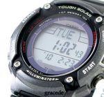 นาฬิกา Casio W-S200H-1BVDF สำหรับผู้ชาย ใช้พลังงานแสงอาทิตย์ ชาร์ตแบตอัตโนมัติ