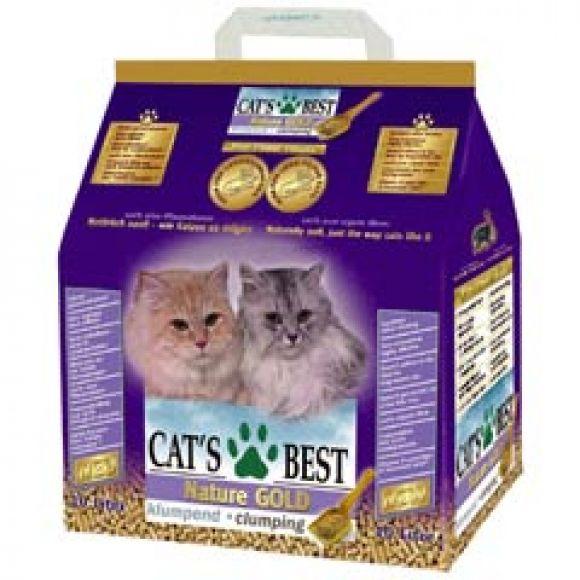 ทรายแมว Cat's Best Nature Gold