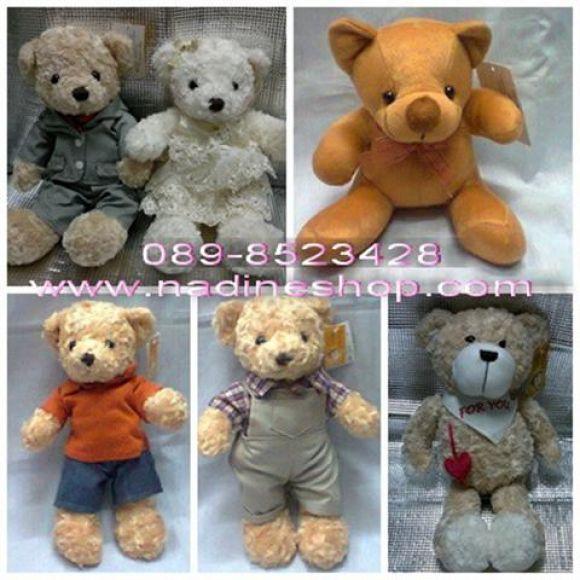 ตุ๊กตาหมี Teddy Bear และพองเพื่อน