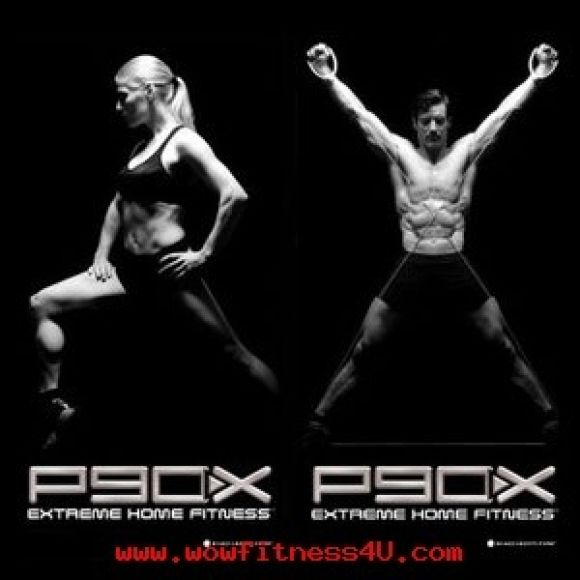 DVDออกกำลังกาย P90X 13DVDWorkout Without Fitness Guide 13DVD
