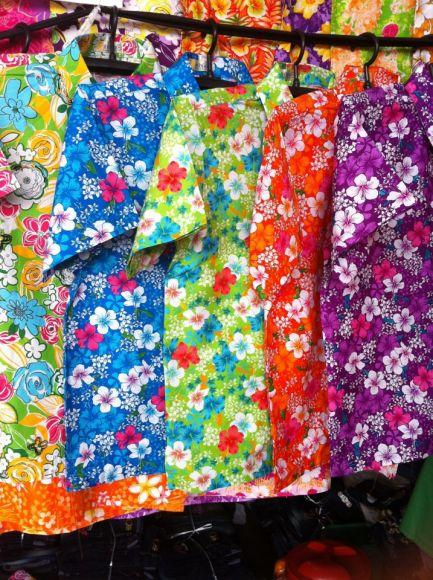 เสื้อลายดอก เสื้อสงกรานต์