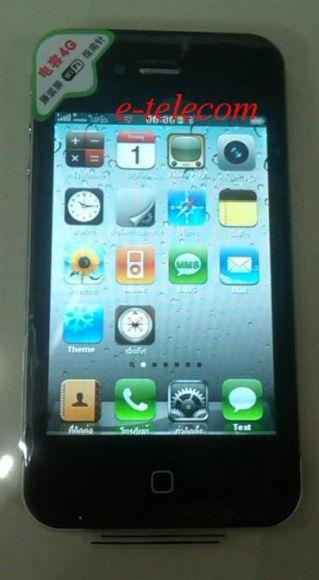 iphone 4Gs WIFI เครื่องจีนงาน super miror AAA (หน้าจอคาพาซีทีฟ)