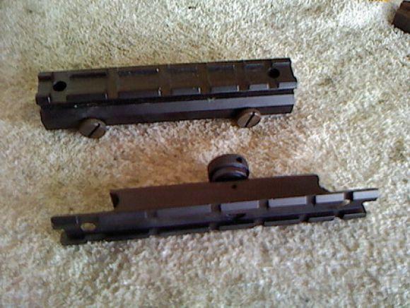 รางm16 รางจับกล้องm16 ขายรางปืนm16