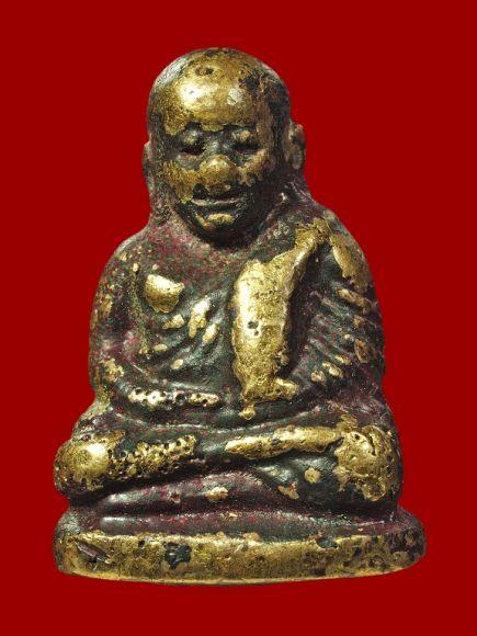 พิหลวงพ่อเงินพิมพ์นิยม พระเก่าเก็บมีคราบขี้เบ้า (เนื้อแก่ทองคำ)  วัดบางคลาน จ.พิจิตร Tel:083-0605848