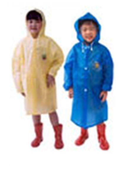 เสื้อกันฝนเด็ก แบบผ่าหน้า ติดกระดุม 30 RC005