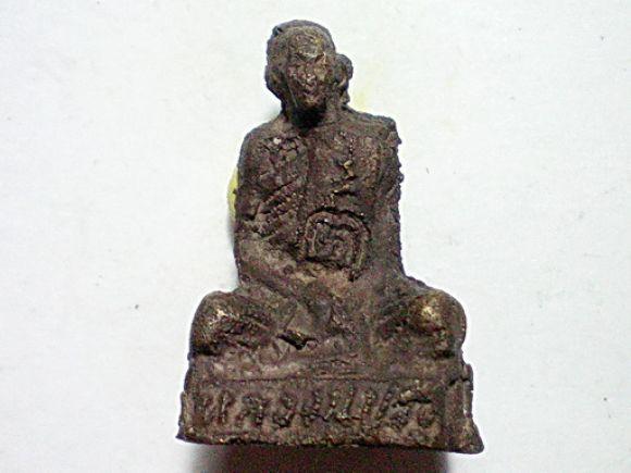 รูปหล่อโบราณ หลวงพ่อปรง วัดธรรมเจดีย์ จ.สิงห์บุรี
