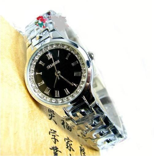 *ใหม่ล่าสุด*นาฬิกาแบรนด์ญี่ปุ่นนำเข้า SINOBI หน้าปัดประดับคริสตัลแท้ ดีไซน์สวยหรู สำหรับคุณผู้หญิง