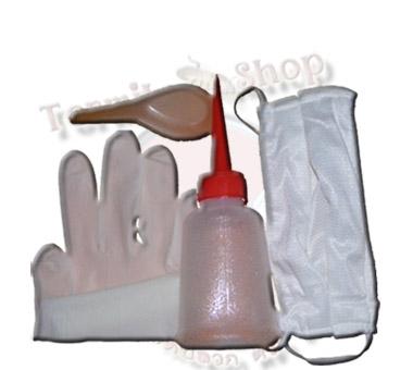 ACC (ชุดเล็ก)  กระบอกฉีด 100 cc   & ถุงมือยางอย่างดี   & หน้ากากอนามัย   & ช้อนตวง