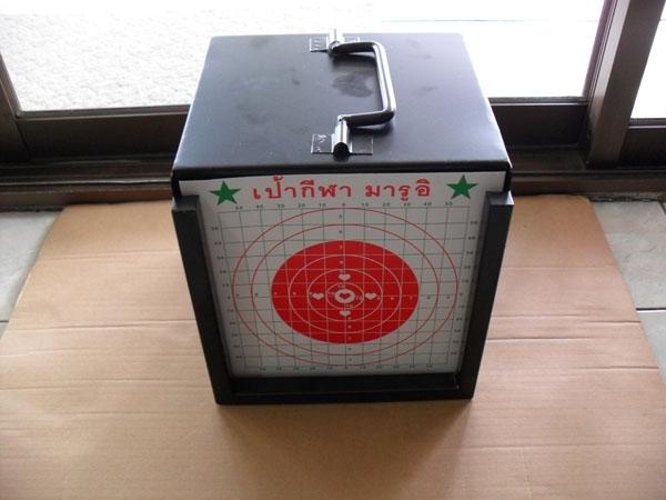กล่องเป้าปืน ขายเป้าปืน เป้ายิงปืน ขายเป้าซ้อมยิงปืน เป้าปืนอัดลม ขายเป้าbb gun
