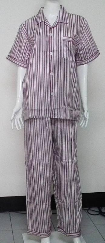 ชุดนอนชายกางเกงขายาวผ้าคอตตอน100% เกรด A ไซส์ L
