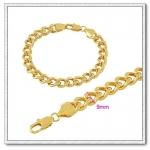 สร้อยข้อมือทองคำ 18K Gold Filled ทองอิตาลีดีไซน์สุดหรู สวยมากค่ะ