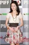 เดรส น่ารัก แฟชั่นเกาหลี ผ้าซีฟองลายดอกไม้สีครีม
