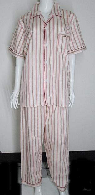 ชุดนอนกางเกงขายาวผ้า cotton แท้ 100% เกรด A ไซส์ XL