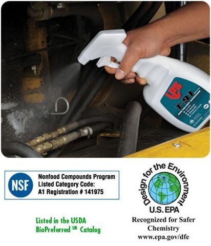 LPS T-91 Non-Solvent Degreaser สเปรย์และหัวเชื้อน้ำยาทำความสะอาดคราบน้ำมัน จาระบี (สูตรน้ำ) ผสมได้ 1