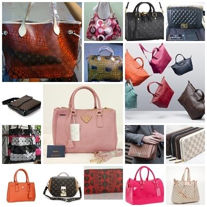 กระเป๋า Louis Vuitton , Gucci, Coach, Prada และยี่ห้อต่าง ลดราคา