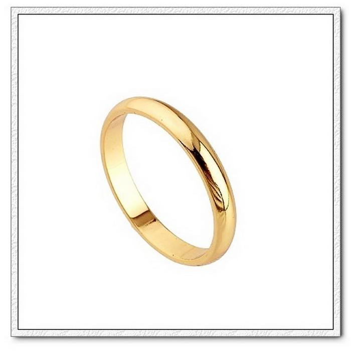 แหวนเกลี้ยงทอง 9k gold filled สวยหรู ไซส์ 5 US