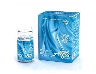 Alfia slimming pills ( minimum order: 101 - 300 (boxes)  usd $8.5