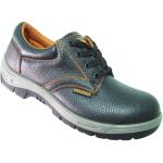 รองเท้าเซฟตี้รุ่นใหม่ล่าสุด หนังแท้ พื้นPU/PU หุ้มส้นDNR8901