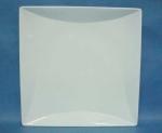 จานเซรามิค,จานสี่เหลี่ยม,จานดินเนอร์,เพลท,จานข้าว,Square,Dinner Plate,รุ่น P6901