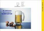 แก้วเบียร์มัค,แก้วมัก,มีมือจับ,เพลบอย,P00140,Beer Mug,Playboy,Beer,Glass,จุ12 1/