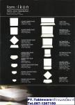 จานเซรามิค,จานดินเนอร์เพลท,จานกลม,จานข้าว,Round Dinner Plate,P6918 Ikon,ขนาด 28cm,พอร์ซเลน,Ceramics