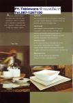 จานเซรามิค,จานกลม,จานหวาน,จานแบ่ง,ใส่อาหาร,Dessert Plate,P6920 Ikon,ขนาด 23 cm,พอร์ซเลน,Ceramics