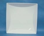 จานเซรามิค,จานสี่เหลี่ยม,จานพาสต้า,จานก้นลึก,Square Large,Deep Pasta,Plate,P6905