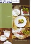 ถ้วยชาม,ชามสี่เหลี่ยม,ชามหลัด,ถ้วยใส่อาหาร,Square Deep,Salad Serving Bowl,รุ่นP6908,ขนาด 20.5x20.5cm