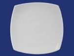 จานเซรามิค,จานสี่เหลี่ยม,จานดินเนอร์,จานข้าว,Dinner Plate,รุ่น P4101,ขนาด 26.5 c