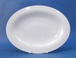 จานเปล,จานวงรี,จานโอเวล,จานแบ่ง,จานใส่อาหาร,Oval Plate,N2909 ขนาด 23.5x31.5cm,เซ