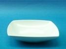 จานชามเซรามิก,จานซุบ,สี่เหลี่ยม,ชามซุป,จานใส่อาหาร,Square,Soup Plate,P4123,ขนาด