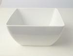 ชามสลัด,สี่เหลี่ยม,ถ้วยสลัดโบล,Square,Salad Bowl,P4121,ขนาด 19 cm,เซรามิค,พอร์ซเ