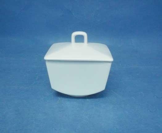 โถน้ำตาล,ซูการ์โบล,Sugar Bowl,P6940,ความจุ 0.275 L,เซรามิค,พอร์ซเลน,Ceramics,Porcelain,Chinaware