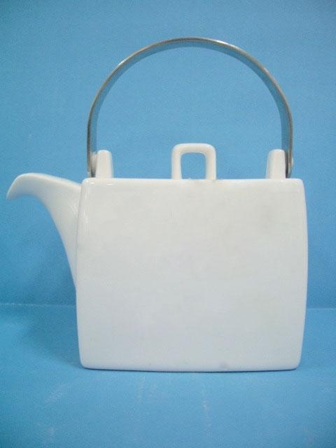 โถชา,โถใส่น้ำชา,โถใส่กาแฟ,พร้อมฝาปิด,Tea Pot,With Lid,P6936L,ความจุ 1.2 L,เซรามิค,พอร์ซเลน,Ceramic